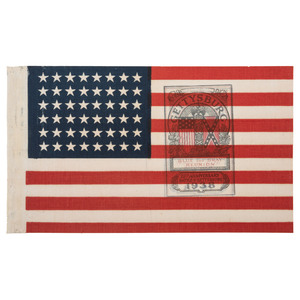 48-Star Flags Celebrating Gettysburg Reunion and Illinois Women's Relief Corps