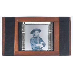 Magic Lantern Slide of General George Custer