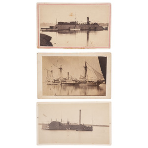 CDVs of Brown Water Navy Warships, USS Conestoga, Essex, and Mississippi