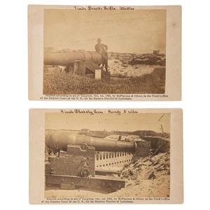 McPherson & Oliver CDVs of Fort Morgan, Alabama, 1864