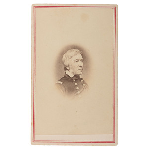 CDV of Josiah Sturgis, Captain of the US Revenue Cutter, Hamilton
