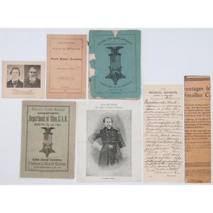 Private Westal W. Hunt Civil War Archive, Ambulance Driver, Ohio 7th Volunteer Infantry