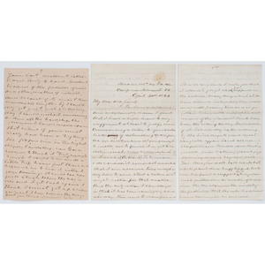 Letters from Pennsylvania Soldiers of the 145th, 111th, and 83rd Regiments, Incl. Chancellorsville Content