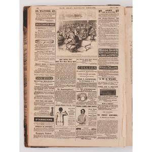 Frank Leslie's Illustrated Newspaper Bound Volume, 1864
