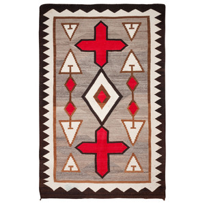 (Denver) Navajo Western Reservation Weaving / Rug