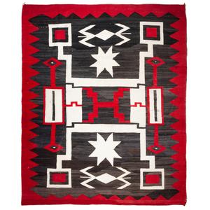 (Denver) Navajo Storm Pattern Weaving / Rug