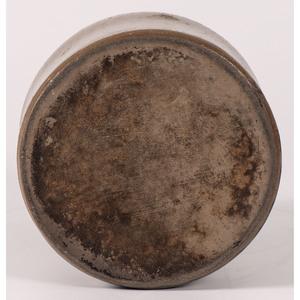 A Two Quart Cobalt-Decorated Pittsburgh Stoneware Jar
