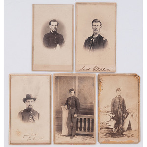 Ohio, Illinois, Wisconsin, and Iowa Soldiers in Louisiana, CDVs by Lytle, Olsen, and Others
