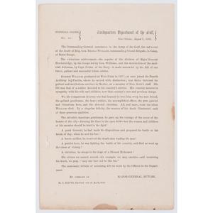 General Benjamin Butler CDVS, Plus General Orders from New Orleans
