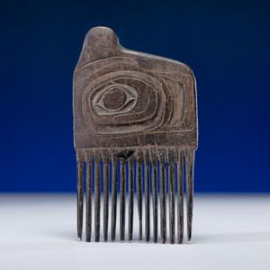 Haida Carved Baleen Comb