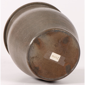 A Cobalt-Stenciled Pennsylvania Stoneware Butter Crock