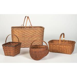 Four Split Baskets