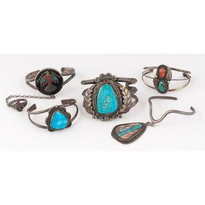 (Cincinnati) Navajo and Southwestern-Style Cuff Bracelets