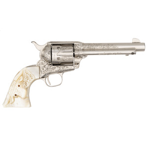 **Factory Engraved Colt Single Action Army