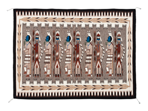 (Denver) Navajo Yeibichai Weaving / Rug
