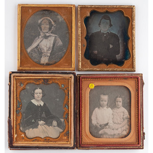 Daguerreotypes by Gurney and Anson, Lot of 6