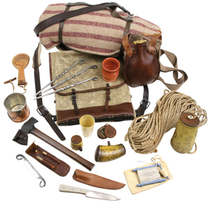 The Scout Set, Sold to Benefit the Contemporary Longrifle Foundation