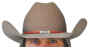 Quilled Hat Band by Djuana Tucker, Sold to Benefit the Contemporary Longrifle Foundation