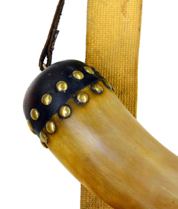 Frontier Hunting Pouch with Powder Horn by Cory Joe Stewart, Sold to Benefit the Contemporary Longrifle Foundation