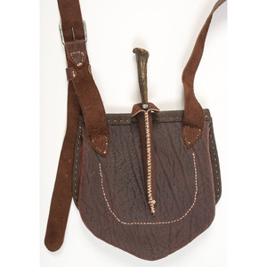 Hunting Bag and Knife by Gary Tingler and Casey McClure, Sold to Benefit the Contemporary Longrifle Foundation