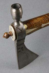 Pipe Tomahawk by Simeon England, Mike Miller, and Kyle Willyard, Sold to Benefit the Contemporary Longrifle Foundation