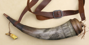 Kings Mountain Bag and Horn by Jack Weeks and Rick Lorenzen, Sold to Benefit the Contemporary Longrifle Foundation