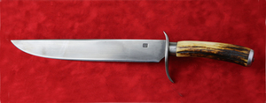 Rifleman's Knife by Todd Butler, Sold to Benefit the Contemporary Longrifle Foundation