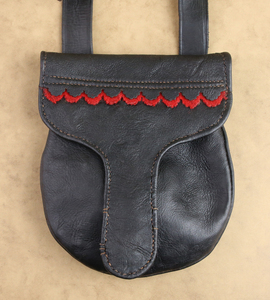 Hunting Pouch Set by Calvin Tanner, Ron Hess, and Louise Hess, Sold to Benefit the Contemporary Longrifle Foundation