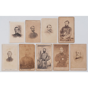 CDVs of Confederate Generals, Many by New Orleans and Baton Rouge Photographers, Incl. Piffet and Lytle