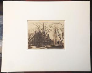 HARVARD UNIVERSITY 1859 SALT PRINT, JOHN ADAMS WHIPPLE