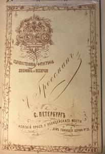 RUSSIA CABINET CARD & CDV ALBUMS