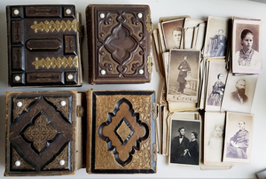 FAMILY ALBUMS CDVs TINTYPES CIVIL WAR