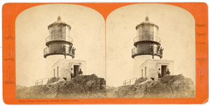 FARALLONE ISLANDS 2 STEREOVIEWS BY J.J. REILLY