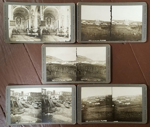 FLORES AZORES PORTUGAL 12 RARE STEREOVIEWS