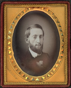 3 DAGUERREOTYPES BY LUTHER HOLMAN HALE inc. HALF PLATE