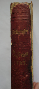 MANUAL OF PHOTOGRAPHY , ROBERT HUNT, 1854