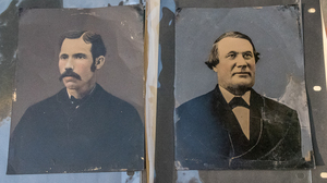 HALF & FULL PLATE TINTYPES MOSTLY HAND PAINTED
