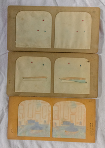 6 TISSUE STEREOVIEWS, MOST OF SAILBOATS