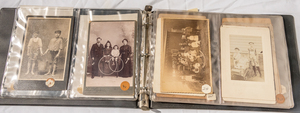 LARGE GROUP OF CABINET CARDS OF KIDS IN POSES