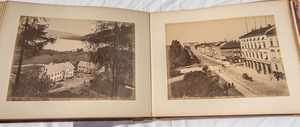EARLY 1890S PHOTOGRAPH ALBUM OF NORWAY