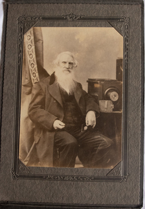 SAMUEL MORSE WITH CAMERA WITH LETTERS FROM BROTHER