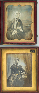 8 DAGUERREOTYPES & 1 AMBROTYPE FROM ENGLAND