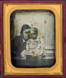 FATHER & CHILD PAIR BY SOUTHWORTH & HAWES