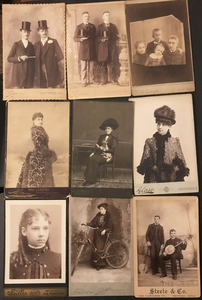 250 ITEMS FEATURING CABINET CARDS & VERNACULAR