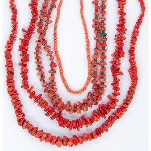 (Cincinnati) Southwestern Coral Necklaces