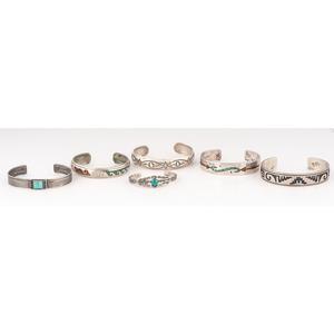 (Cincinnati) Navajo, Hopi, and Zuni Cuff Bracelets