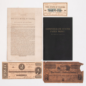 Collection of Items with Confederate Association