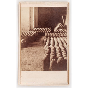 CDV of Confederate Armstrong Shells by Lilienthal, New Orleans