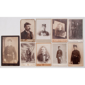Cabinet Cards of Late Indian Wars - Spanish American War-Era Soldiers Stationed in the Western United States