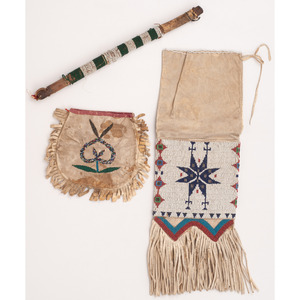 Collection of Plains Beadwork